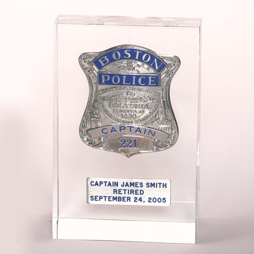 V H  Blackinton - Makers of Police Badges, Fire Badges, Military