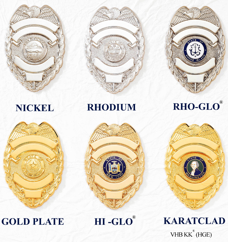 V H  Blackinton - Makers of Police Badges, Fire Badges, Military